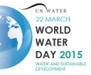 Banner World Water Day 2015, UN-Water