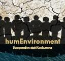 Logo humEnvironment, Master-Studierende Umweltgeographie und -management