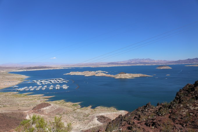Abbildung 6: Die Lake Mead National Recreation Area. Quelle: Busche 2016.