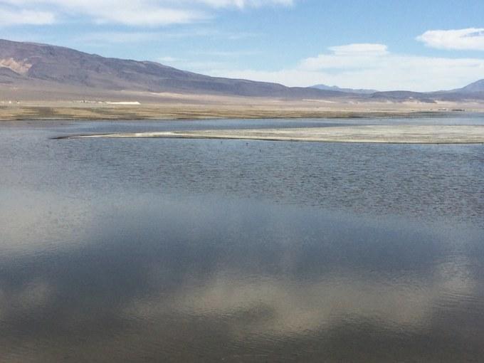 Abbildung 10: Shallow Flooding im Owens Lake (Quelle: KAISER 2018).
