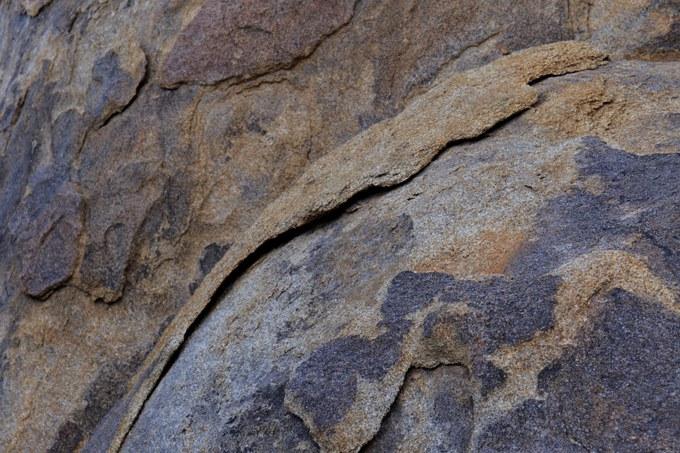 Abbildung 4: Nahaufnahme verwitterter Granit. Quelle:Busche 2018.