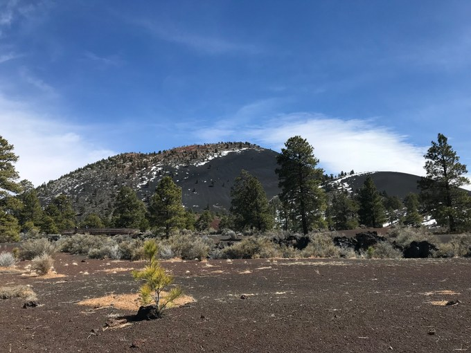 Abbildung 4: Sunset Crater Volcano (WOLTERS 2018).