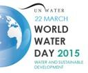 Banner World Water Day 2015, UN-Water