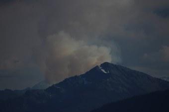 Abbildung 12: Waldbrände in den Olympic Mountains. Foto: Hillringhaus 2016
