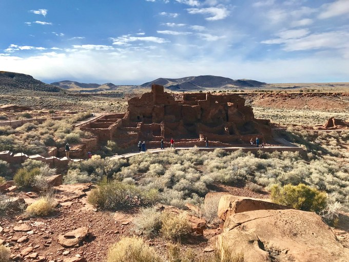 Abbildung 14: Wupatki-Ruine (WOLTERS 2018).