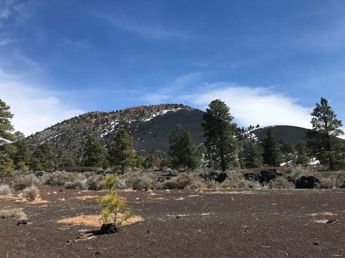Abbildung 4: Sunset Crater Volcano (WOLTERS 2018).