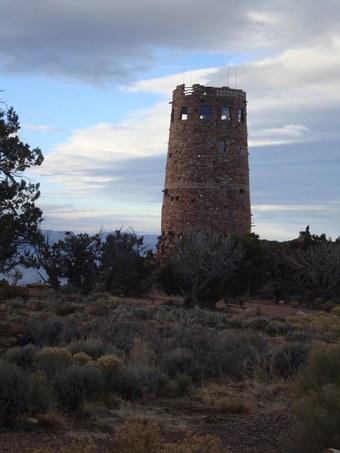 Abbildung 13 (links): Desert View Watchtower.  Quelle: Walther 2018.