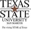 Logo Texas State University, Universität Texas State San Marcos