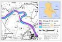 Laufveränderungen Elbe bei Vockerode, Sachsen-Anhalt. Karte: Jan Merkens und Thea-Lina Müller