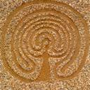 Mutter-Erde-Labyrinth von Ruthild Tillmann, R. Tillmann